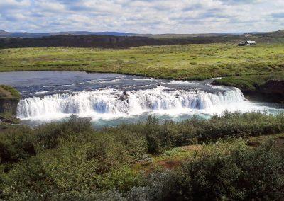 Faxi-vandfaldet - Den Gyldne Cirkel i Island
