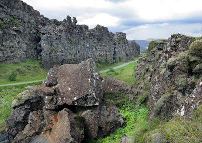 Thingvellir Nationalpark (på UNESCO verdensarvlisten) - Den Gyldne Cirkel i Island