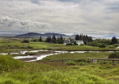 Den Gyldne Cirkel i Island. Thingvellir Nationalpark (UNESCO verdensarvlistet)