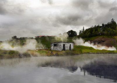 Secret Lagoon geotermiske bad - Den Gyldne Cirkel i Island