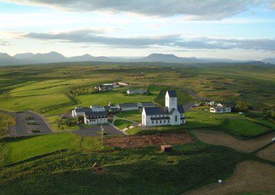 Den smukke Skalholt kirke - Den Gyldne Cirkel i Island