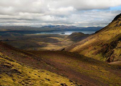 Storslået hiking i Hengill-området i Island