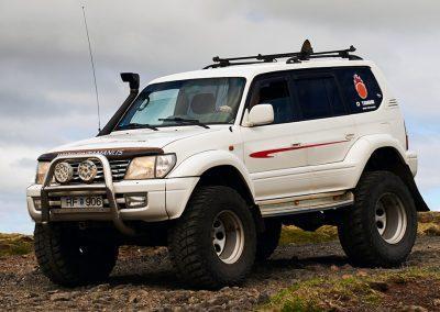 Hiking i Island og 4-hjulstrækker