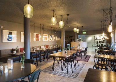 Hyggelige Hotel Höfn på grupperejse til Island