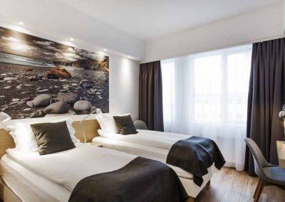 Dejlige værelser på Hotel Storm.