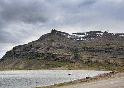 Et ikonisk bjerg ved Østfjordene