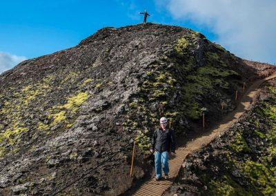 Ind i vulkanen