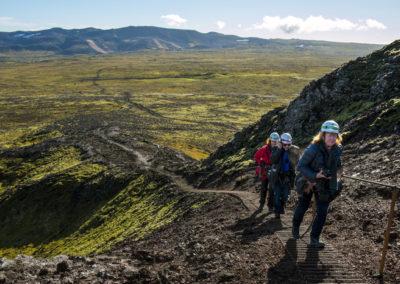 Ind i vulkanen i Island - inside the volcano på kør-selv ferie og bilferie med ISLANDSREJSER