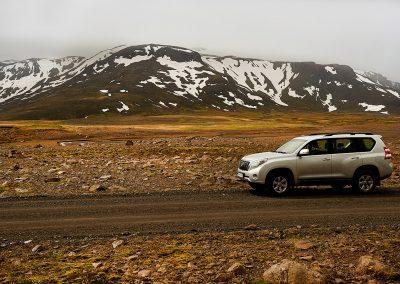 Kjølur højlandsvej kræver en 4WD biltype