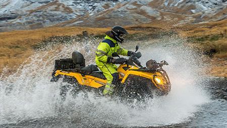ATV i Island - her i nærheden af Reykjavik