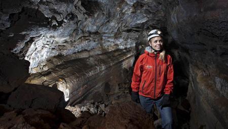 Grotter i Island og turen Underworld - geologiske oplevelser i særklasse.