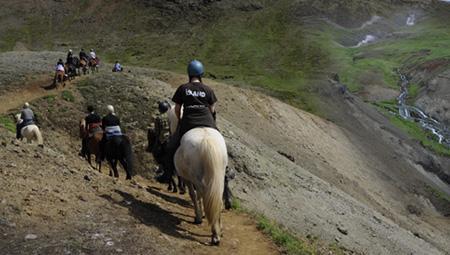 Rideture på islandske heste og varme kilder - perfekt kombi-tur i Island