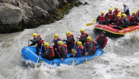 River rafting i Island - alle kan være med