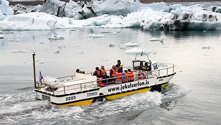 Aktiv ferie i Island - Jökulsarlón og sydkysten