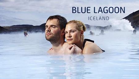 Blue Lagoon adgang til det geotermiske luksus-spa kun 20 min. fra Keflavik Lufthavn - den internationale lufthavn i Island.