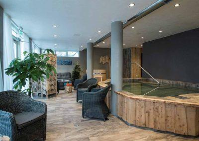 Spabad på hotellet i Island
