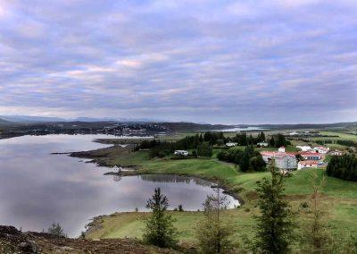 Det dejlige Lake Hotel Egilsstadir