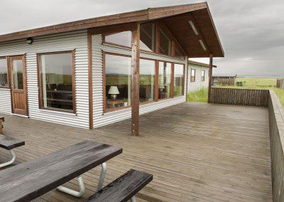 Lodgen og verandaen