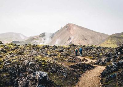 Aktiviteter og dagture - Landmannalaugar Hike i Island med ISLANDSREJSER