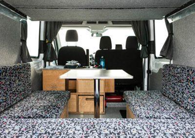 Auto Camper Van i Island - smart indretning