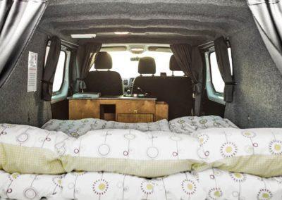 Auto Camper Van i Island - sovepladser