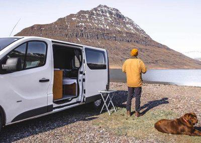 Auto Camper Van i Island - kør-selv ferie