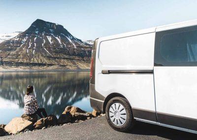 Auto Camper Van i Island - oplevelser i naturen