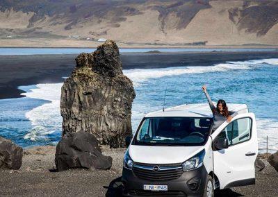 Auto Camper Van i Island - total frihed