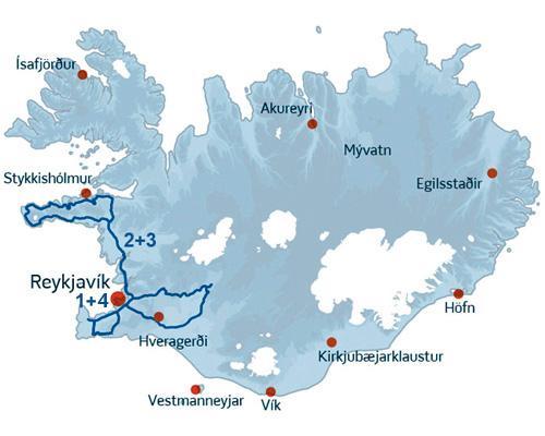 Pakkerejse og grupperejse med ISLANDSREJSER nordlyssæsonen - og i den prisvenlige ende!