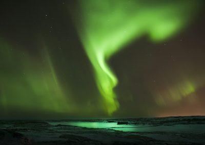 Det dansende nordlys - et magisk syn