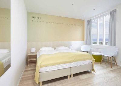 Lækre værelser på Hotel Reykjavik Lights (juni + august)
