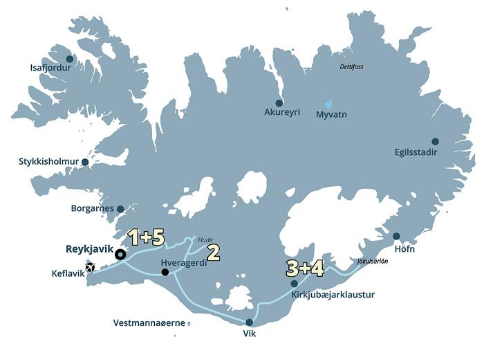 Billig rejse til Island - så kig nærmere på denne prisvenlige guidede grupperejse / pakkerejse.