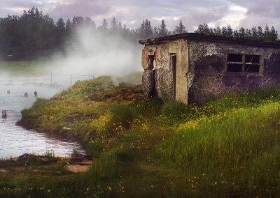 Vi kan anbefale et bad ved geotermiske Secret Lagoon