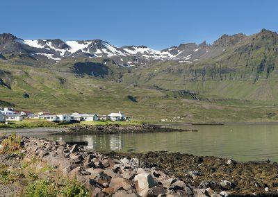 Idyllisk fiskerleje på nordsiden af Snæfellsnes