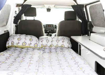 Auto Camper Van i Island - sengepladser