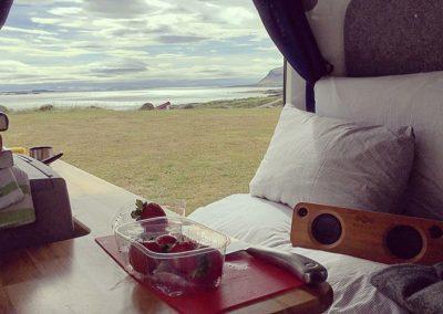 Auto Camper Van i Island - udsigt
