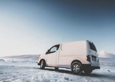 Auto Camper Van i Island - på alle årstider