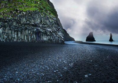 Smukke Reynisfjara i syd-Island