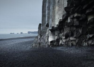 Reynisfjara med den sorte stand