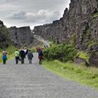 Thingvellir (på UNESCO verdensarvlisten) er et varieret geologisk og historisk spændende område.