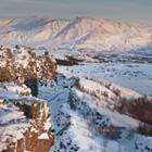 Thingvellir (på ENESCO verdensarvlisten) er en oplevelse - også hvis I besøger stedet om vinteren.