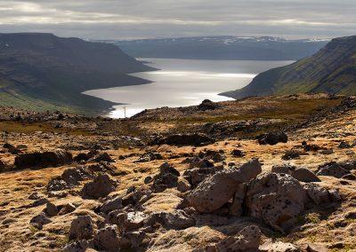 Smukt syn ved Vestfjordene