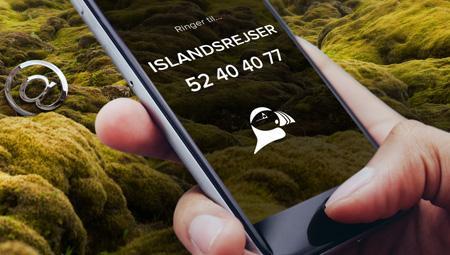 Kontakt ISLANDSREJSER vedr. rejser til Island