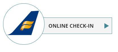 Icelandair check-in online - det er nemt og bekvemt.
