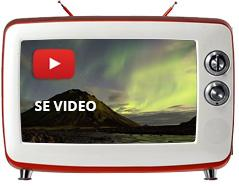 Video fra Island til inspiration - rejser til Island med ISLANDSREJSER