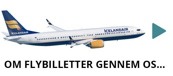 Flybilletter til Island med Icelandair