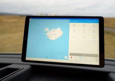 Auto Camper Van i Island med ISLANDSREJSER