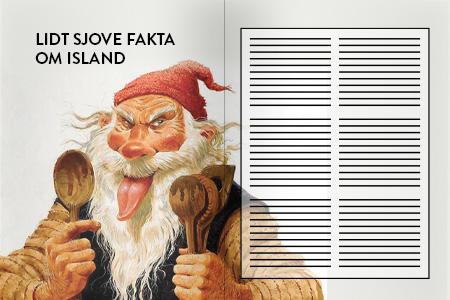 Artikler om Island. Sjove fakta om Island. Dit rejsebureau med rejser til Island - ISLANDSREJSER