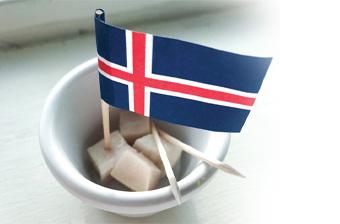 Sjove fakta om Island og Hákarl - en traditionel islandsk spise.