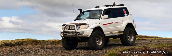 Hiking i Island på jeres kør-selv ferie og bilferie med ISLANDSREJSER